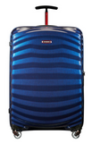 Samsonite Lite-Shock Sport 75cm Spinner Nautical Blue/Red front