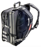 U100 Pelican Urban Backpack Black side/back view