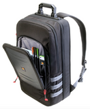 U105 Pelican Urban Backpack black open pocket