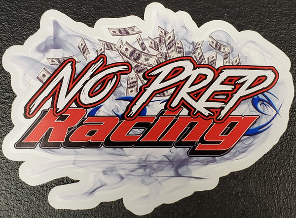No Prep Racing Sticker / Decal