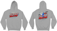 No Prep Racing Heather Gray Pullover Hoodie