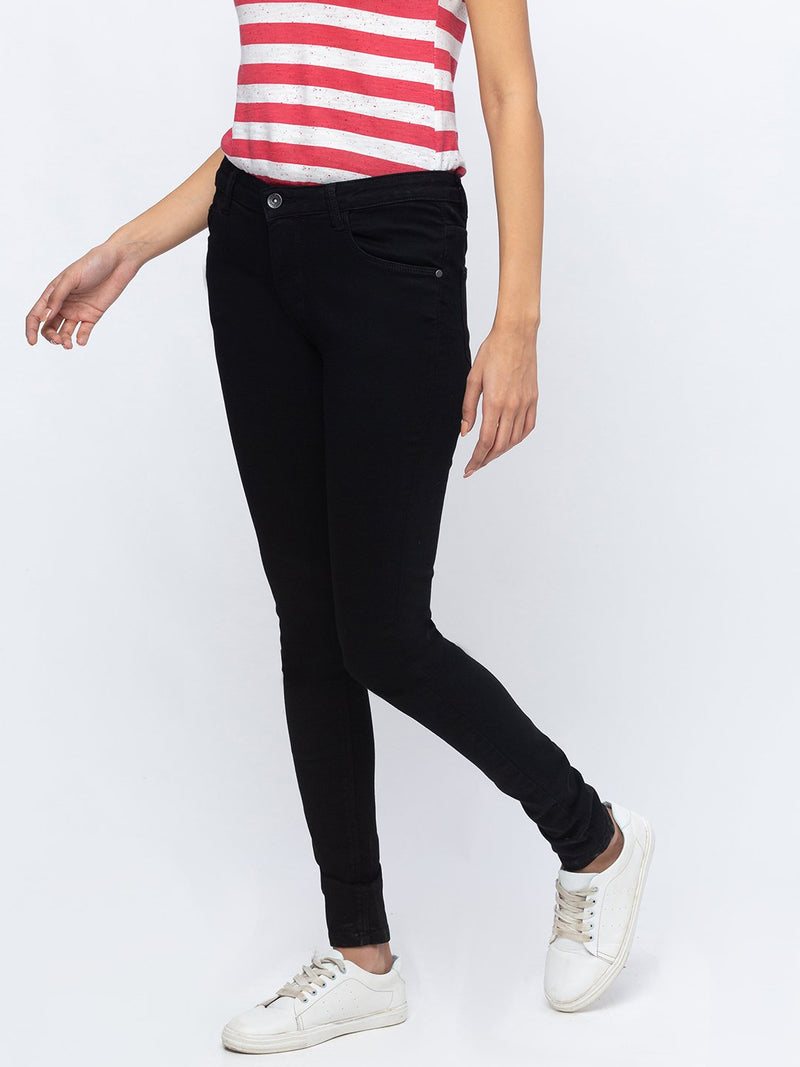 ZOLA Pencil Fit Full Length Jeans for Women