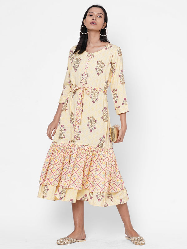 ZOLA Printed Dress for Women