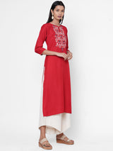 ZOLA Embroidered Kurta for Women