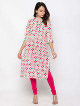 ZOLA Lovely Multi colored Printed Kurti