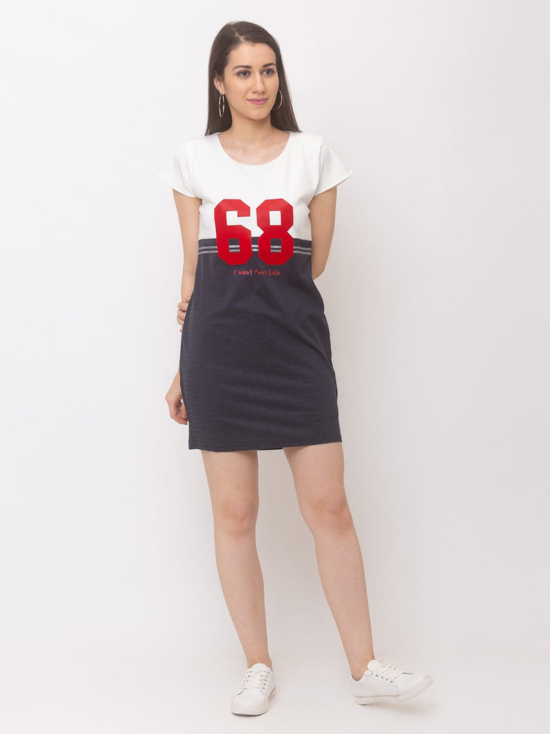 ZOLA Sporty Casual Sheath Dress
