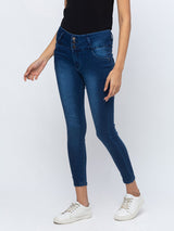 ZOLA Slim Fit Ankle Length High Rise Jeans