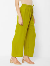ZOLA Basic Leisure Green Pants