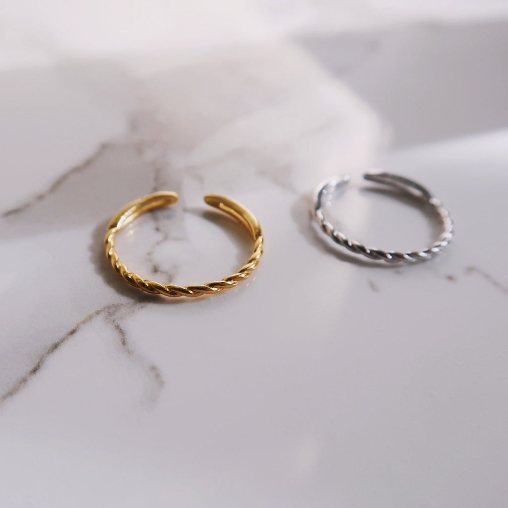 Twist Adjustable Ring