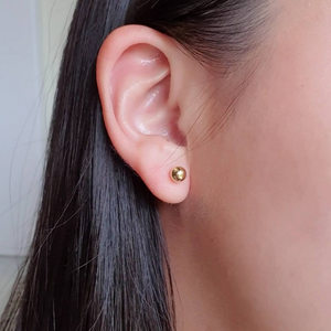 Small Ball Stud Earrings