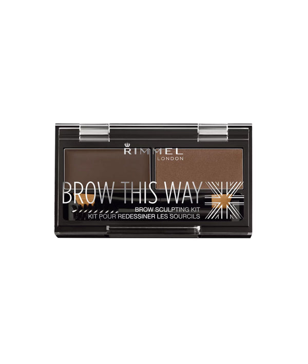 RIMMEL BROW THIS WAY EYEBROW KIT 003 1x2pcs 1.3g | HIJE PËR VETULLA
