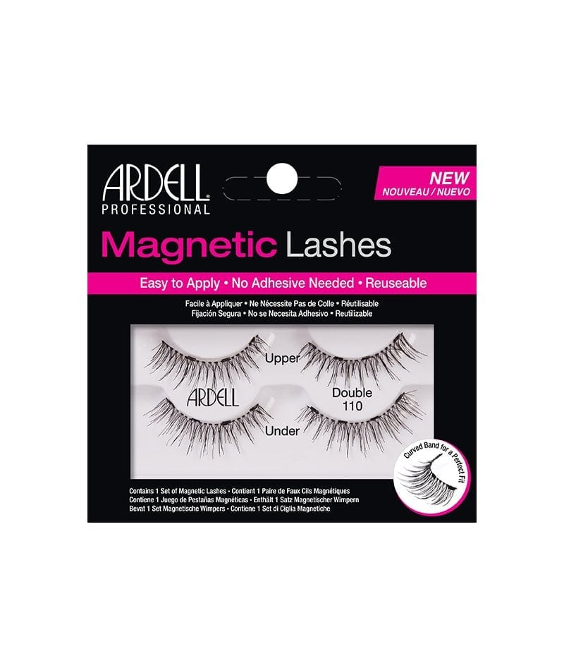 ARDELL PROFESSIONAL MAGNETIC LASHES DOUBLE DEMI WISPIES 1X2PCS | QERPIKË MAGNETIK