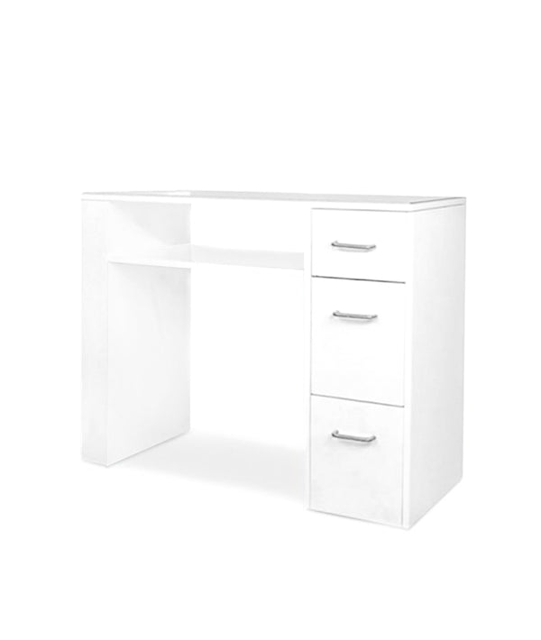 PROFESSIONAL EQUIPMENT NAIL WHITE TABLE 01