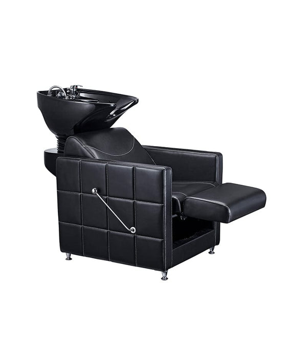 PROFESSIONAL EQUIPMENT SHAMPOO BASIN CHAIR EXCLUSIVE (BLACK) 998 | LAVATEST I ZI