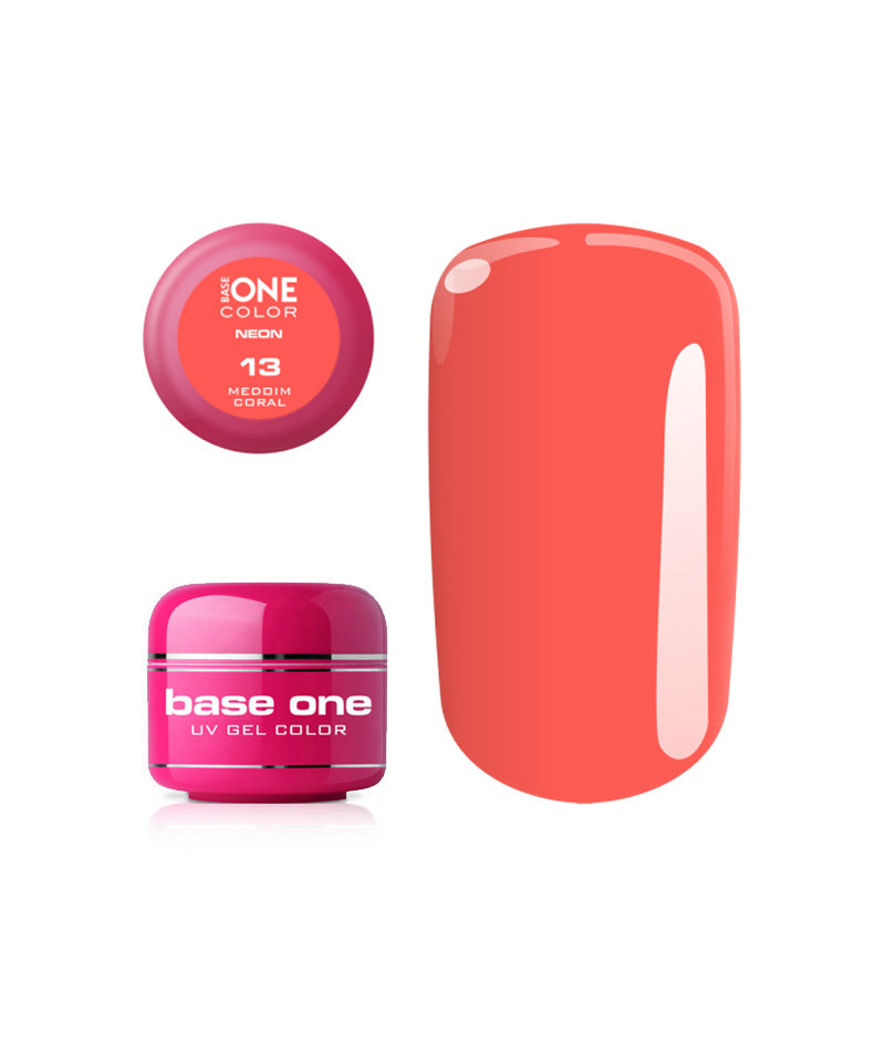 SILCARE UV GEL COLOR NEON 13 MEDIUM CORAL 5g | GELL ME NGJYRË