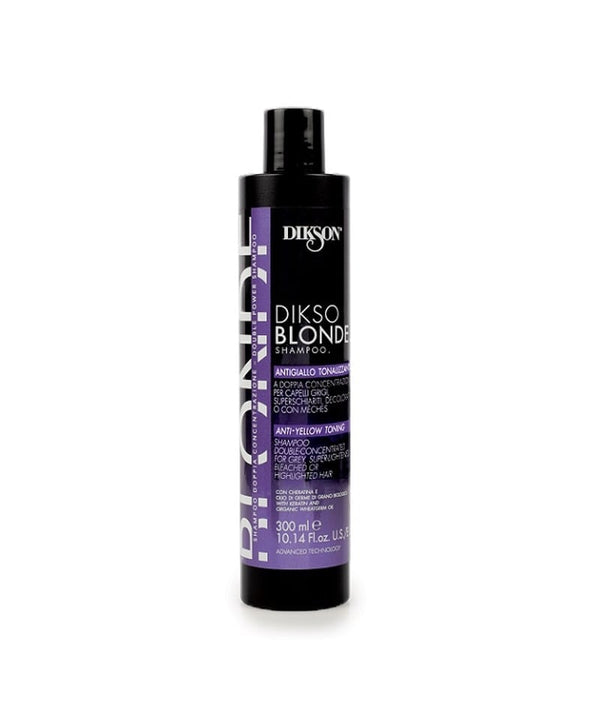 DIKSON BLONDE ANTI-YELLOW SHAMPOO 300ML | SILVER SHAMPO