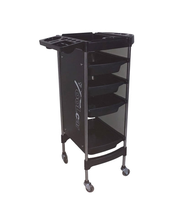PROFESSIONAL EQUIPMENT SALON TROLLEY (BLACK) 002 | KARROCË E ZEZË