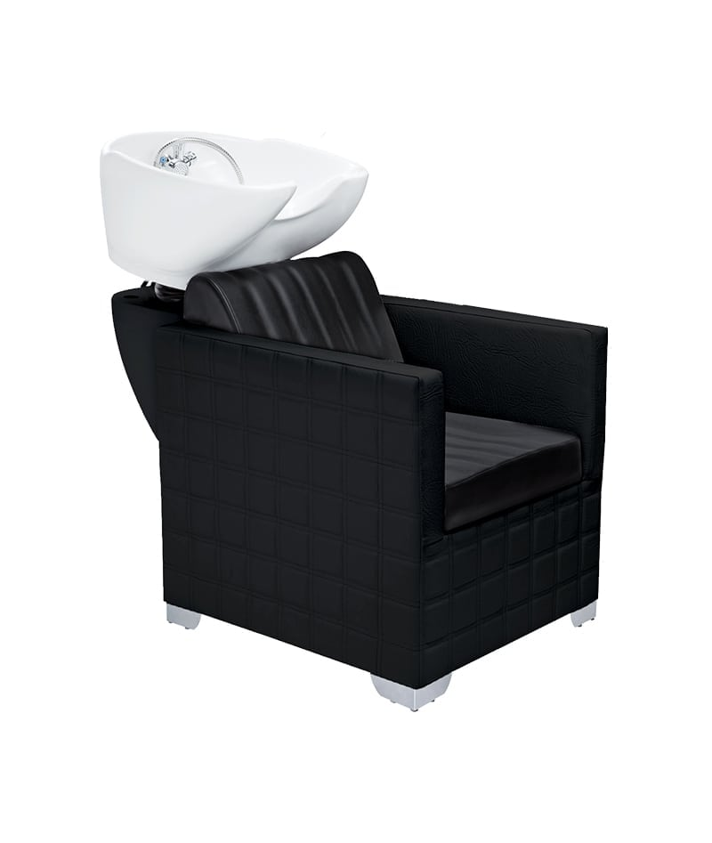 PROFESSIONAL EQUIPMENT SHAMPOO BASIN CHAIR (BLACK) 953 | LAVATEST I ZI