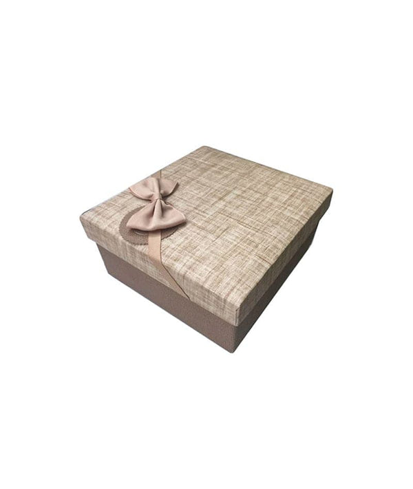 ALLURE DECORATING BOX BROWN (SMALL) | KUTI DEKORUESE