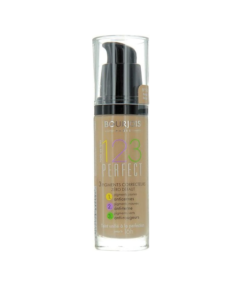 BOURJOIS 123 PERFECT FOUNDATION 16h 053 30ml | PUDËR E LËNGËT