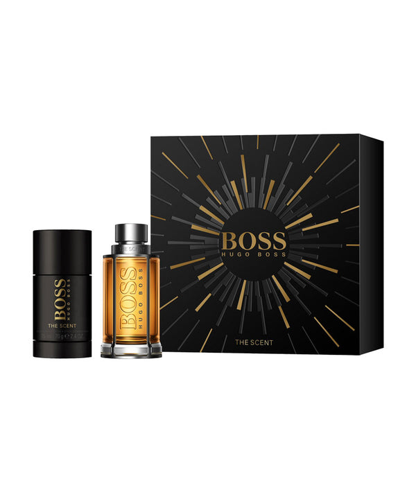 HUGO BOSS THE SCENT PARFUME EDT 50ml & 75ml DEODORANT STICK | SET PËR MESHKUJ