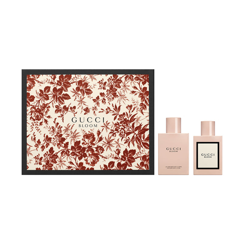 GUCCI BLOOM WOMEN PARFUM SPRAY 50ML & BODY LOTION 100ML | SET PËR FEMRA
