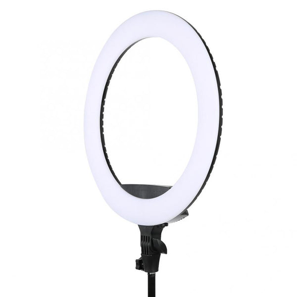PROFESSIONAL EQUIPMENT LED LIGHT RING FOR PHOTOGRAPHY & VIDEO STAND 18INCH 65W | LED LLAMBË PËR FOTOGRAFI & VIDEO