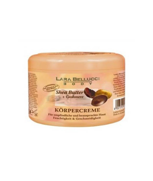 LARA BELLUCCI BODY CREAM SHEA BUTTER + CASHMERE 500ML | KREM PËR TRUP