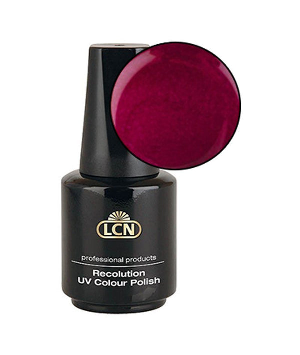 LCN RECOLUCION UV-COLOUR POLISH STRAWBERRY RED 10ML | LLAK GELL