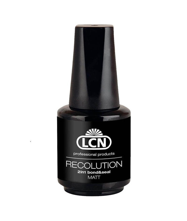 LCN RECOLUTION 2IN1 BOND & SEAL MATT 10ML | BAZË & PËRFUNDUES