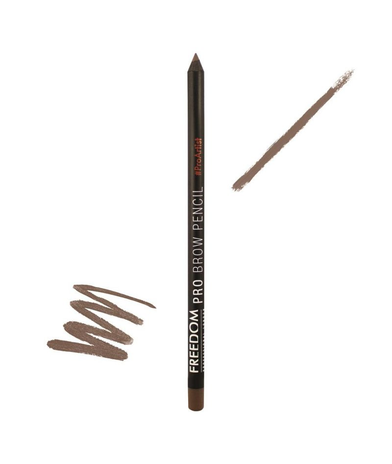 FREEDOM PRO BROW PENCIL SOFT BROWN | LAPS PËR VETULLA