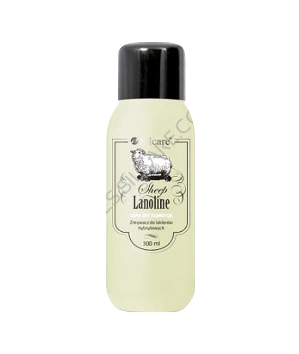 SILCARE SHEEP LANOLINE SOAK OFF REMOVER 300ML | HEQËS I GELLIT