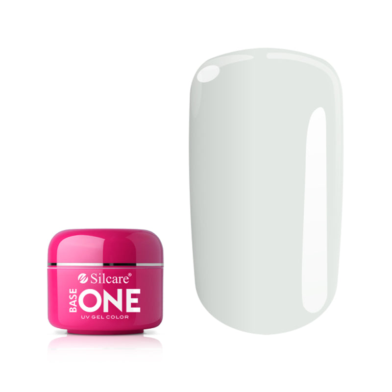 SILCARE UV GEL COLOR NEON 01 WHITE 5g | GELL ME NGJYRË