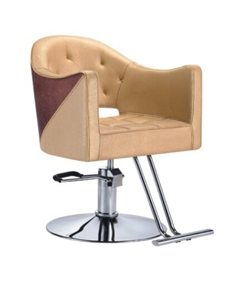 PROFESSIONAL EQUIPMENT CHAIR (GOLD & BROWN) 6133 | KARRIGE ARI & KAFE