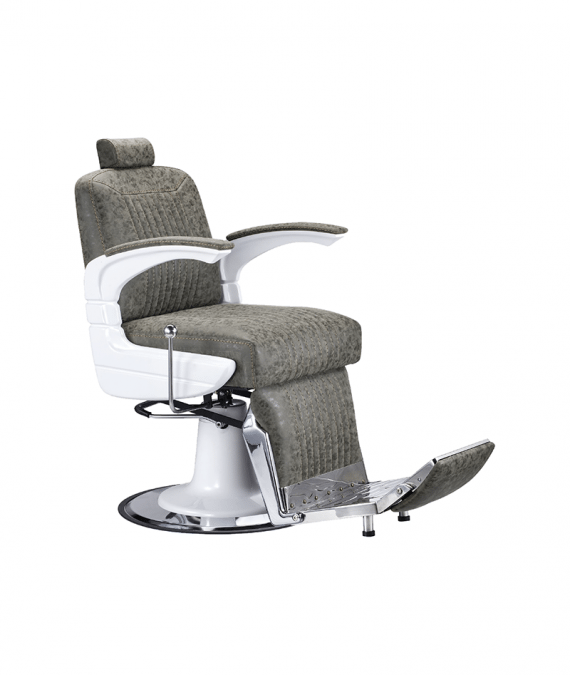 PROFESSIONAL EQUIPMENT CHAIR BARBER (BROWN) 6632 | KARRIGE KAFE
