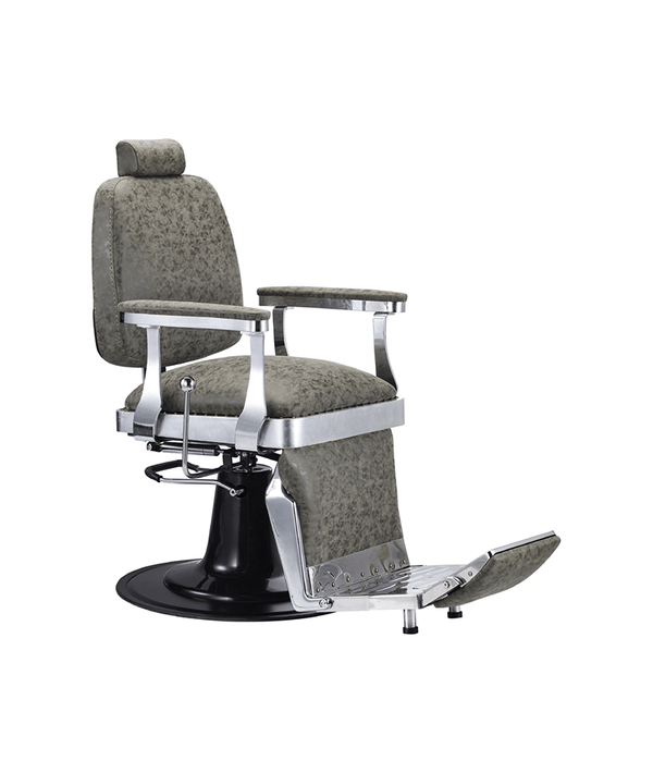 PROFESSIONAL EQUIPMENT CHAIR BARBER (BROWN) 6633 | KARRIGE KAFE