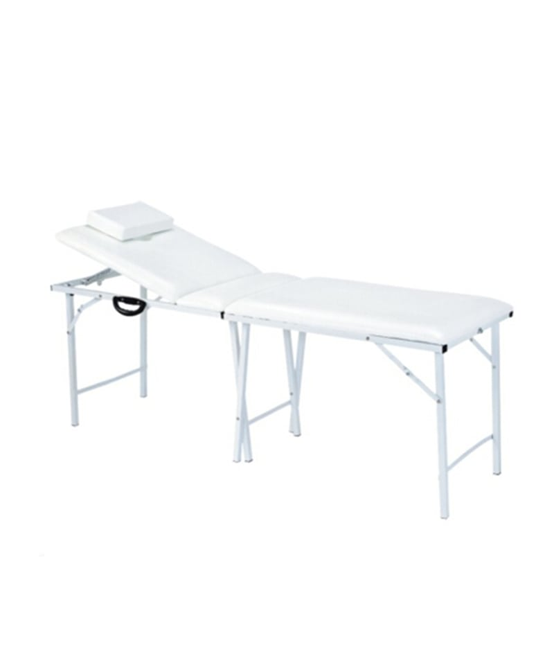 PROFESSIONAL EQUIPMENT MOBILE BEAUTY SALON BED (WHITE) 726 | SHTRAT I BARDHË MOBIL