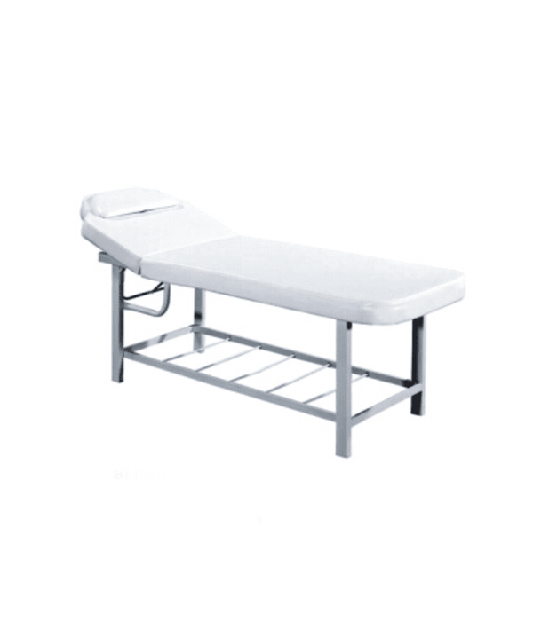 PROFESSIONAL EQUIPMENT BEAUTY SALON BED (WHITE) 784 | SHTRAT I BARDHË