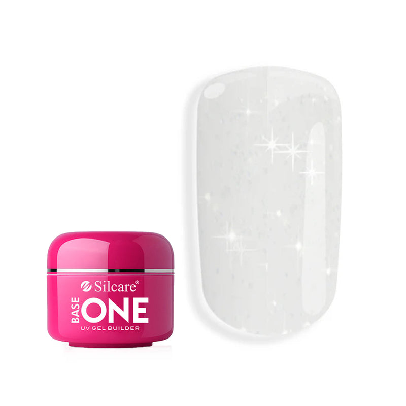 SILCARE BASE ONE UV GEL BUILDER DIAMOND TOUCH 30G | GELL NDËRTUES