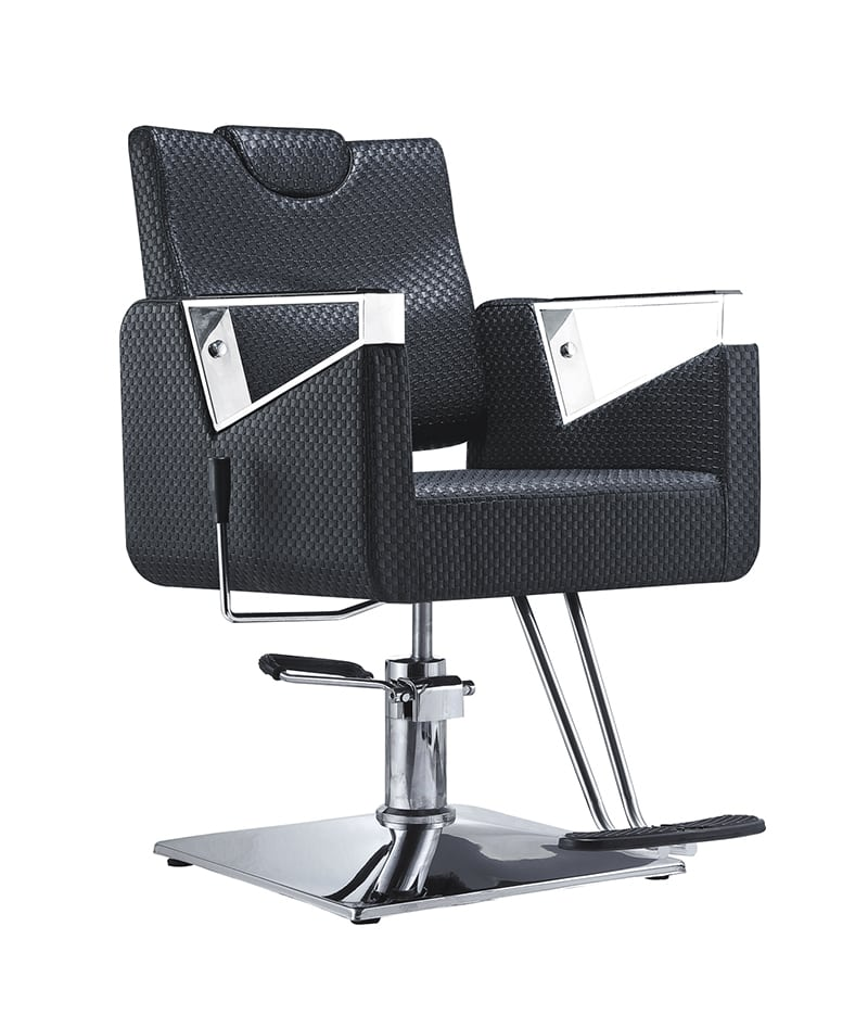 PROFESSIONAL EQUIPMENT CHAIR BARBER (BLACK) 8675 | KARRIGE E ZEZË