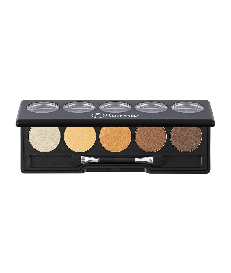 FLORMAR COLOR PALETTE EYE SHADOW 1X5PCS 04 9G | HIJE PËR SY