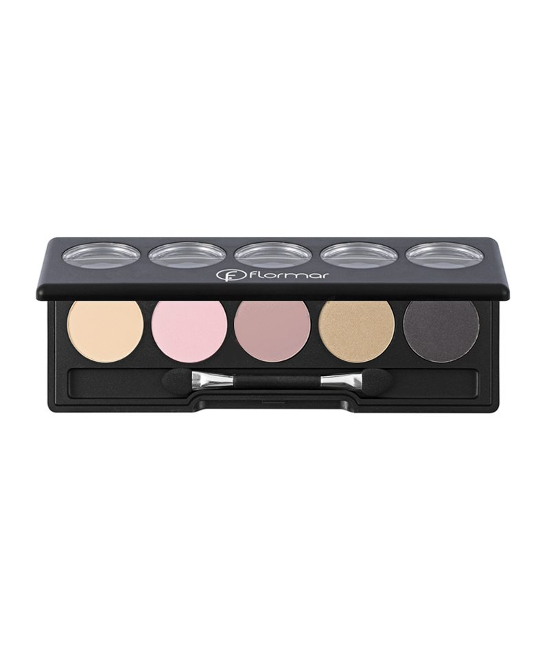 FLORMAR COLOR PALETTE EYE SHADOW 1X5PCS 08 9G | HIJE PËR SY