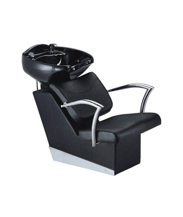 PROFESSIONAL EQUIPMENT SHAMPOO BASIN CHAIR (BLACK) 95T | LAVATEST I ZI