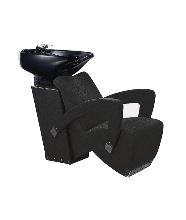 PROFESSIONAL EQUIPMENT SHAMPOO BASIN CHAIR (BLACK) 967 | LAVATEST I ZI