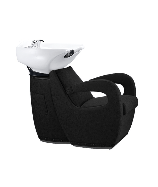 PROFESSIONAL EQUIPMENT SHAMPOO BASIN CHAIR (BLACK) 981 | LAVATEST I ZI