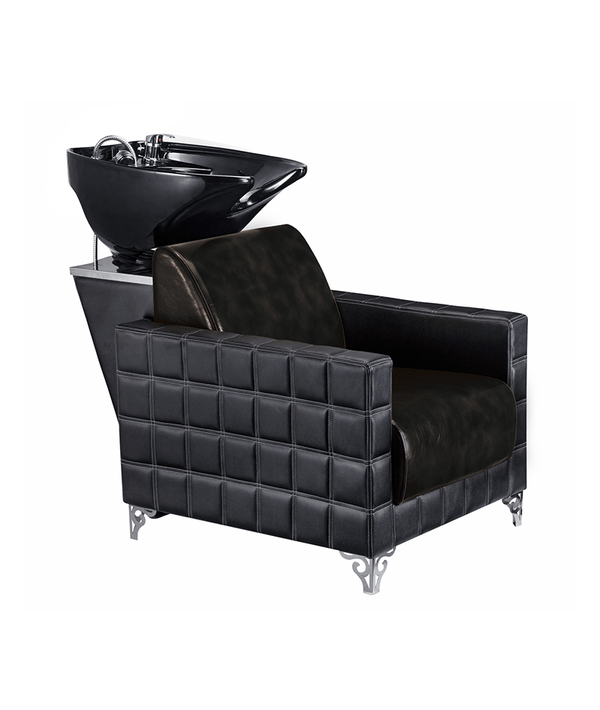 PROFESSIONAL EQUIPMENT SHAMPOO BASIN CHAIR (BLACK) 991 | LAVATEST I ZI