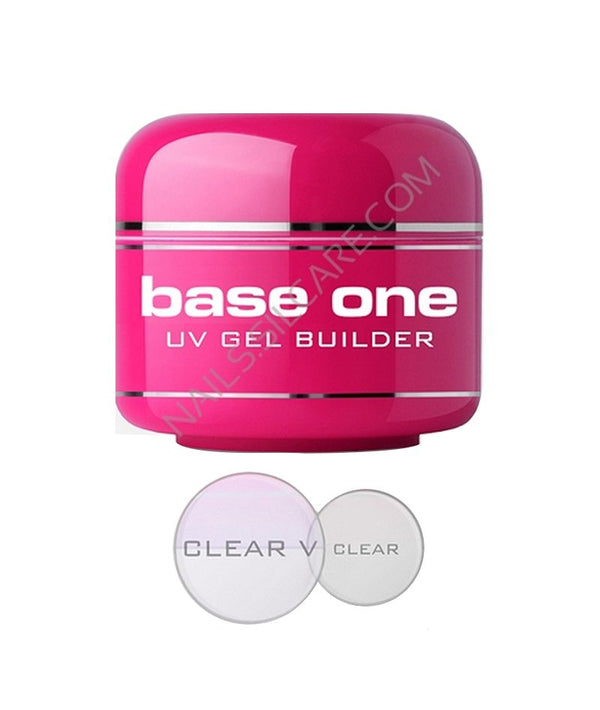 SILCARE BASE ONE UV GEL BUILDER CLEAR 50G | GELL NDËRTUES