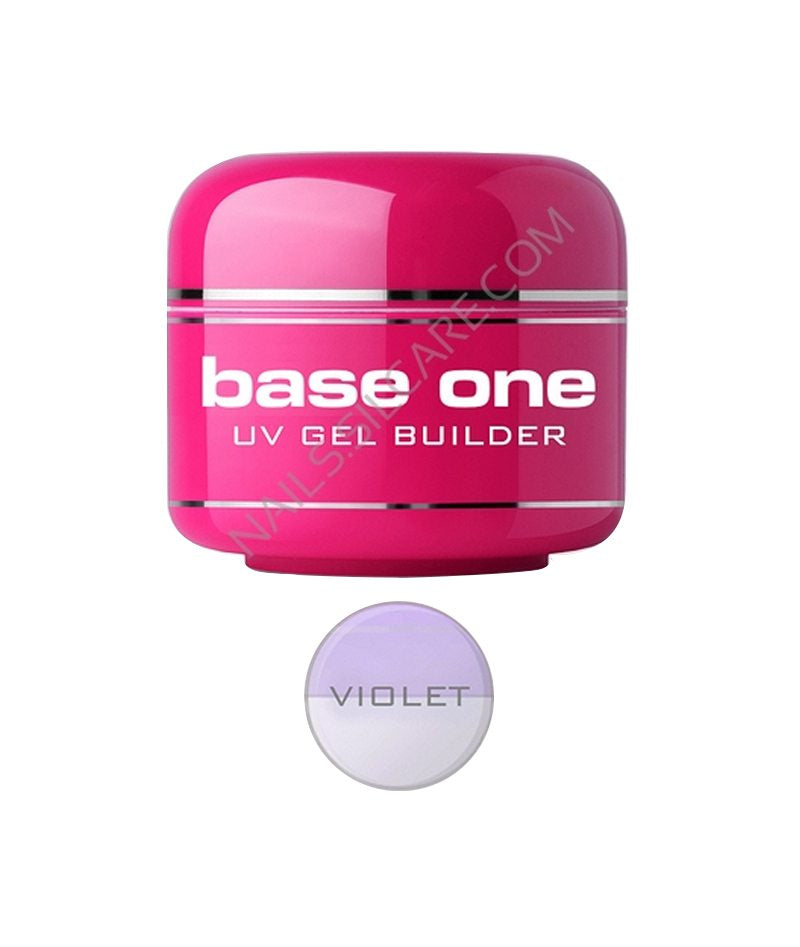 SILCARE BASE ONE UV GEL BUILDER VIOLET 30G | GELL NDËRTUES