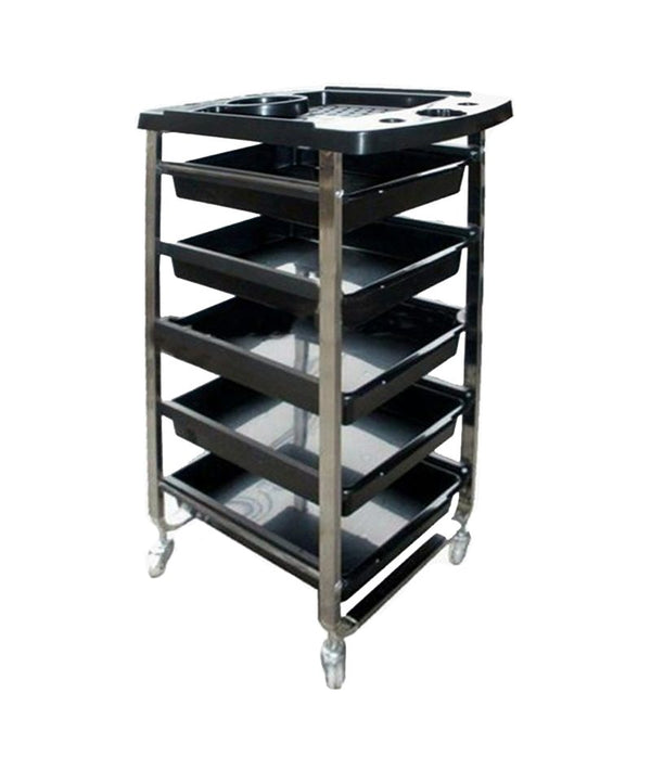 PROFESSIONAL EQUIPMENT SALON TROLLEY BQ504A | KARROCË