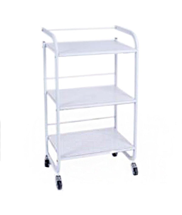 PROFESSIONAL EQUIPMENT SALON TROLLEY (WHITE) BQ-534 | KARROCË E BARDHË